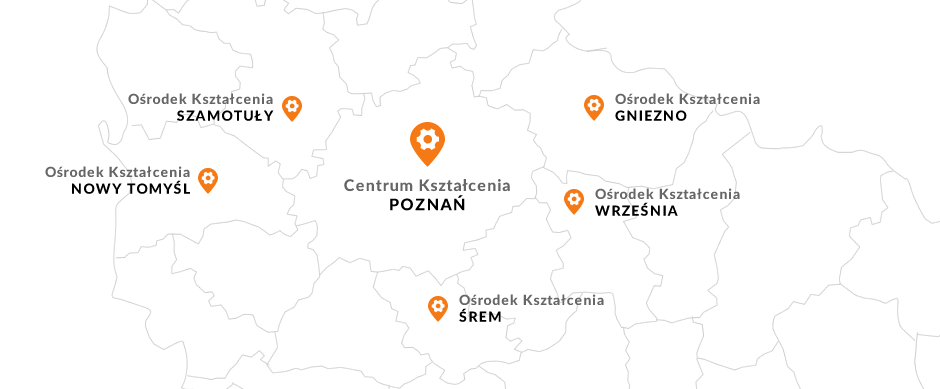 Gniezno - Nowy Tomyśl - Śrem - Szamotuły - Września